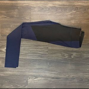 Outdoor Voices Navy & Black 7/8 Leggings
